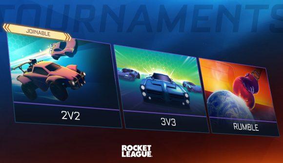 Rocket League is adding 2v2 tournaments in Season 4.