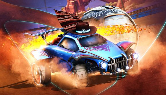One of Rocket League's new Season 4 features