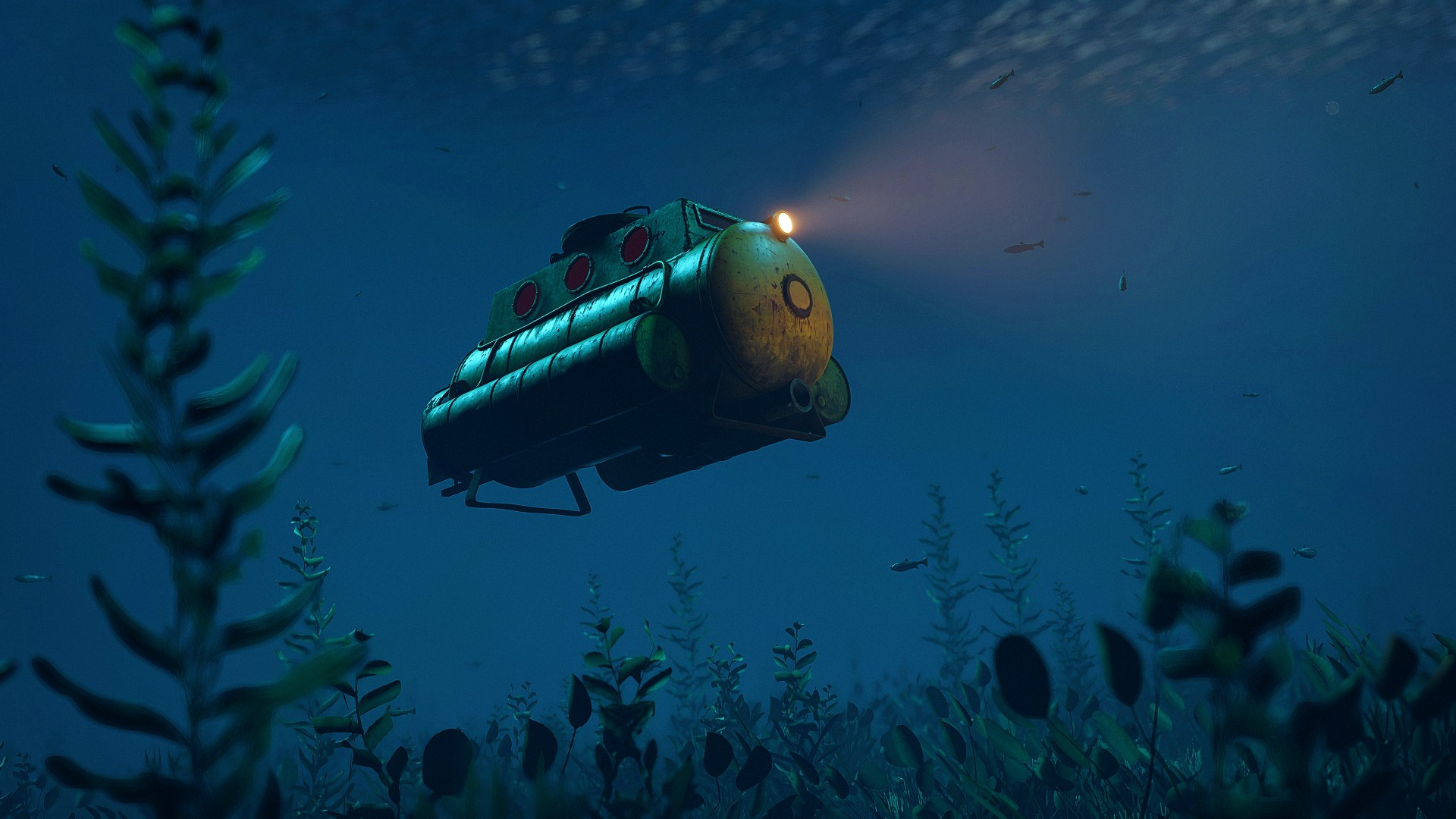 Rust is getting an underwater biome, underwater dungeons, and fishing