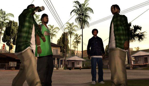 Grand Theft Auto: San Andreas in its original, non-remastered form