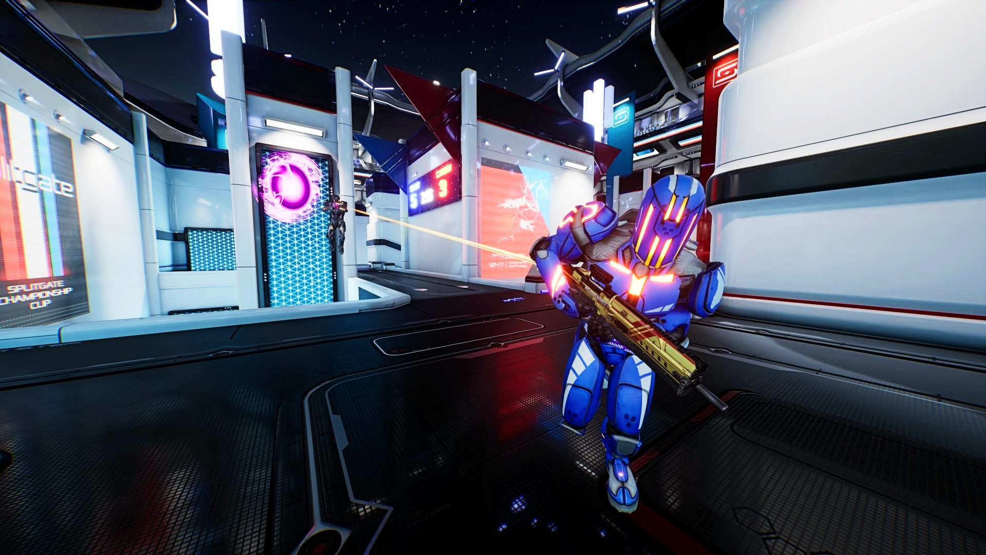 Popular Halo x Portal mashup Splitgate has broken another Steam record