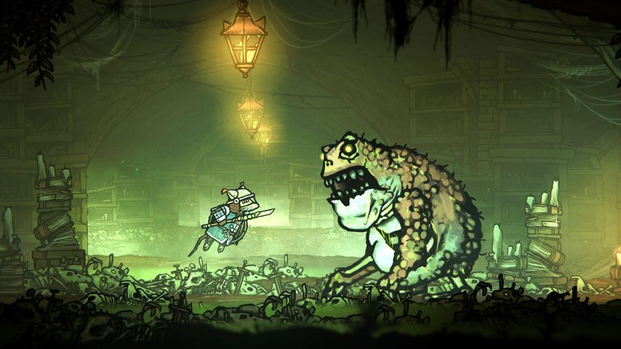 Dark Souls-like combat and Hollow Knight combine in RPG Tails of Iron