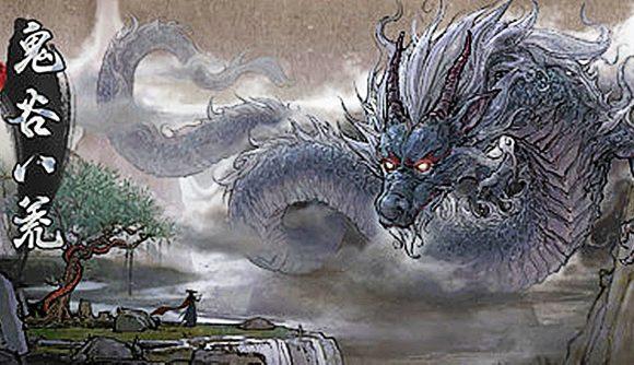 A dragon confronts a mortal in Tale of Immortal