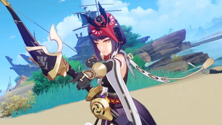 The best Genshin Impact Sara build
