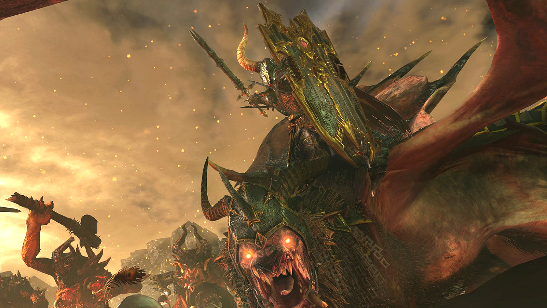 This Total Warhammer 2 modder has turned Archaon's frown upside down