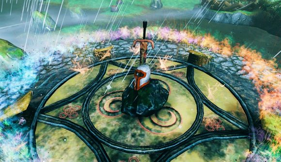 Part of Valheim's magic overhaul mod