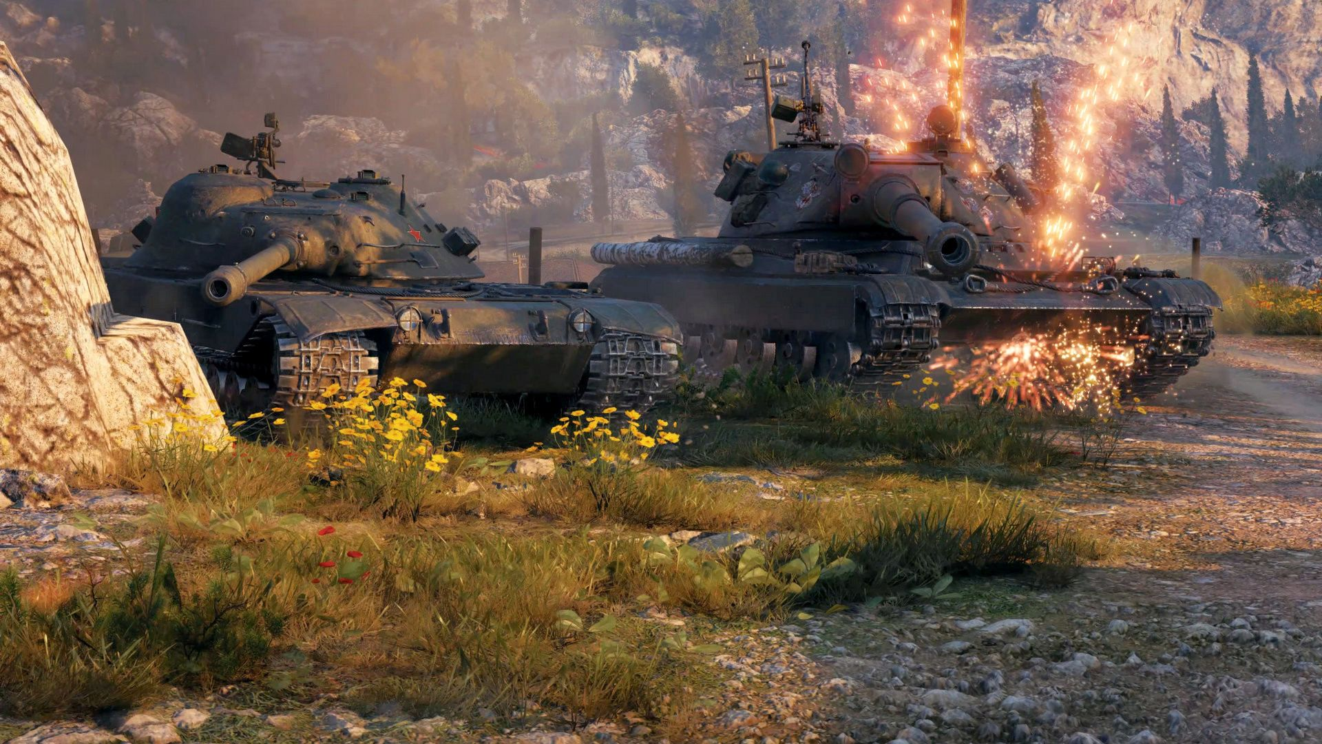Sign up to World of Tanks to get a free premium tank and 600 gold
