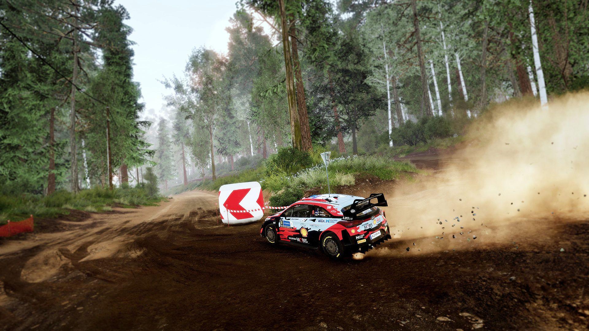 WRC 10 is Forza Horizon for masochists