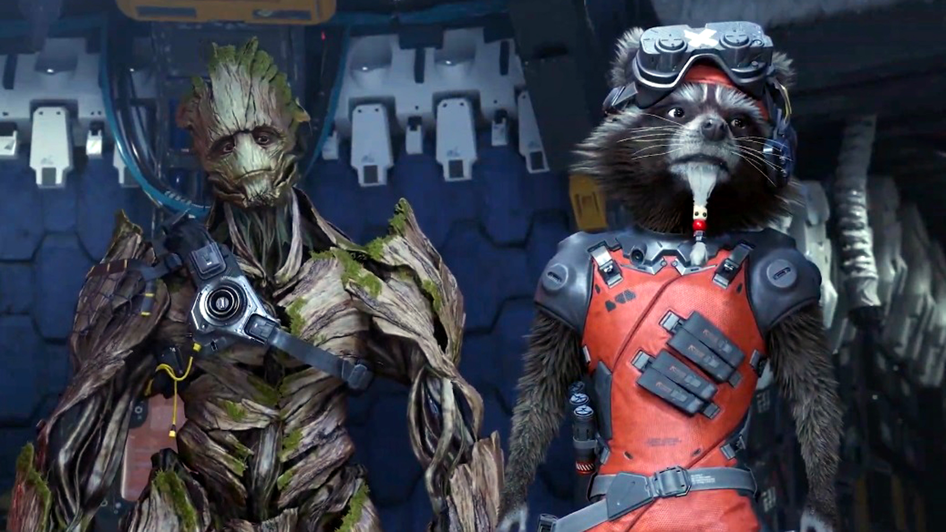 Guardians of the Galaxy is a linear action-adventure, not Mass Effect