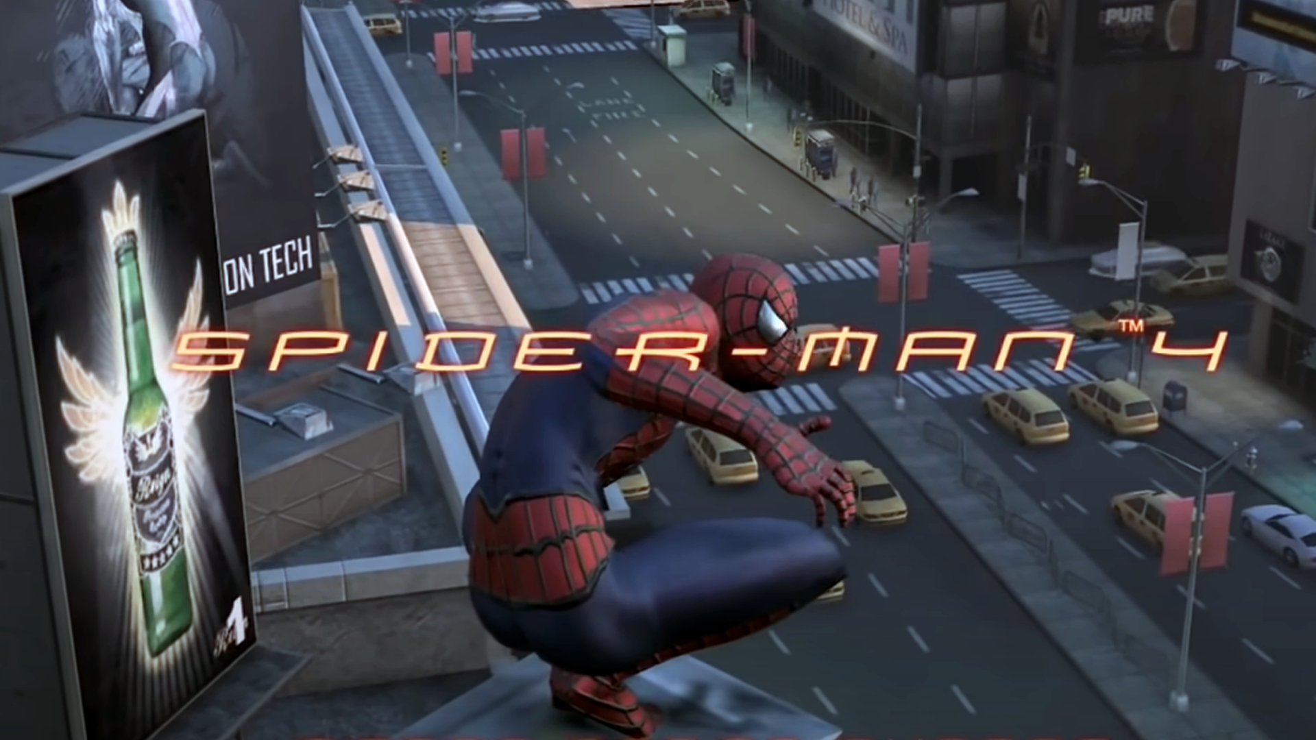 Here's the Spider-Man 4 game we should've got alongside a movie