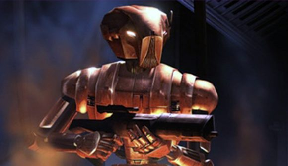 HK-47 in Knights of the Old Republic remake