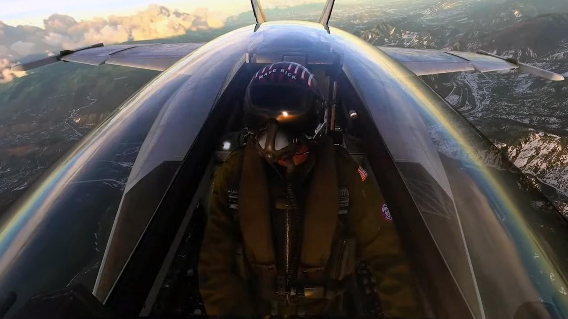 Microsoft Flight Simulator's Top Gun DLC is delayed thanks to Top Gun: Maverick