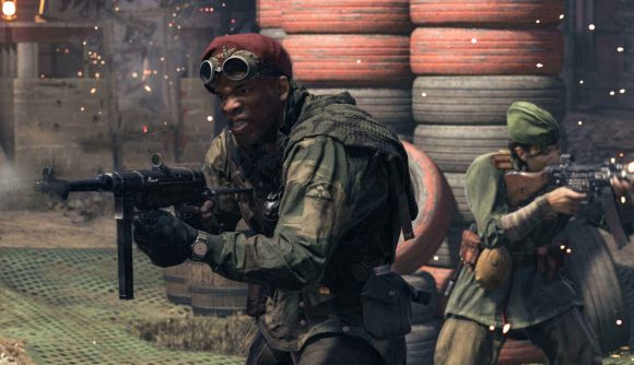 Call of Duty Vanguard image of two soldiers holding rifles on battlefield