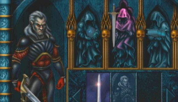 An equipment menu in Blood Omen: Legacy of Kain