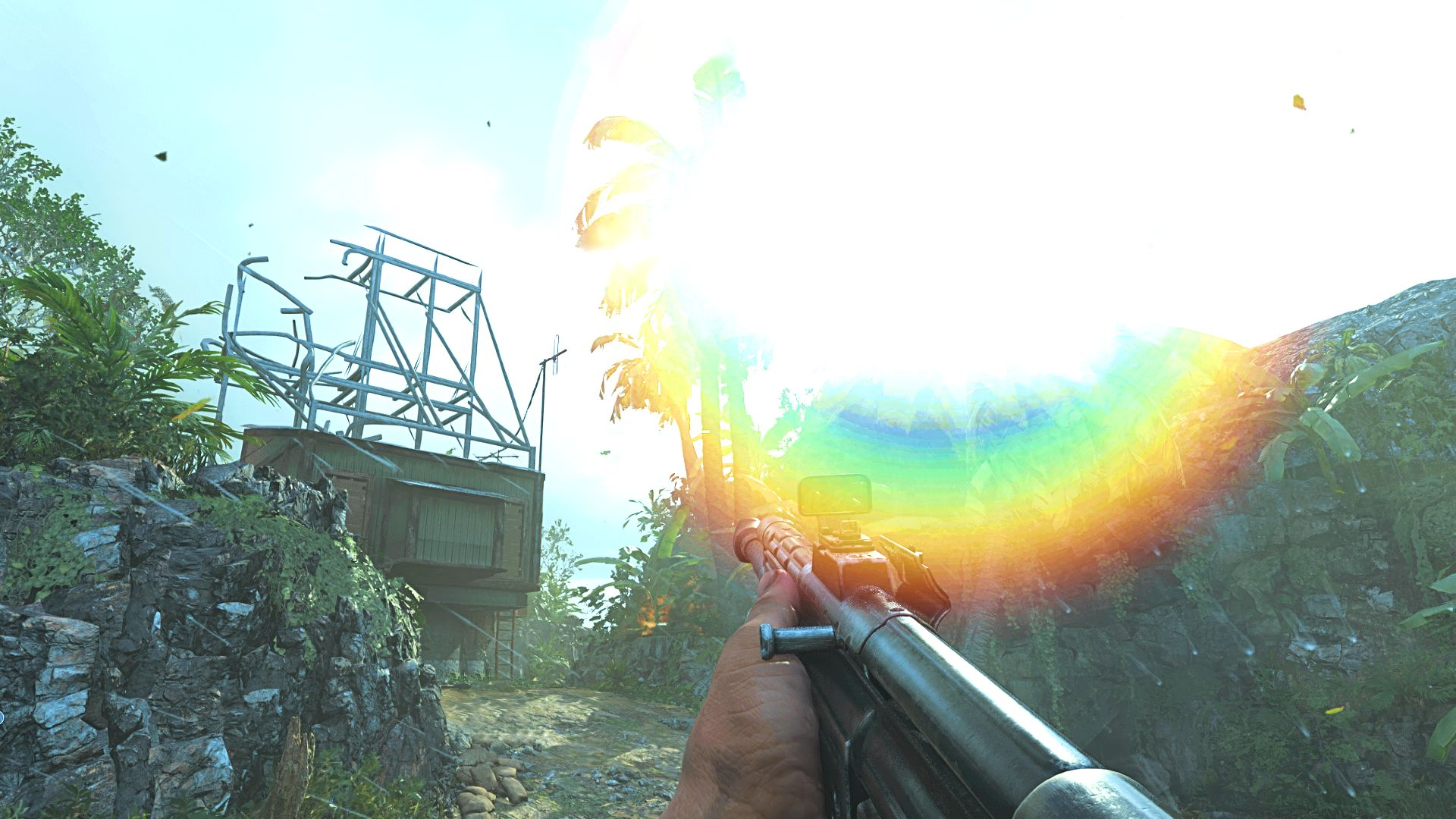 I played the Call of Duty: Vanguard beta and couldn't see anything