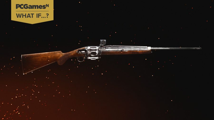 The revolving shotgun from Call of Duty Vanguard beta