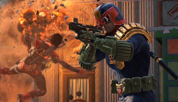 Call of Duty: Warzone's new Judge Dredd skin in action