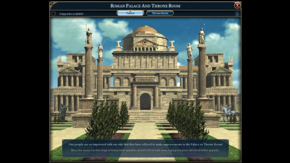 A Civilization 6 mod that adds Civ 2 and 3's throne rooms and palaces