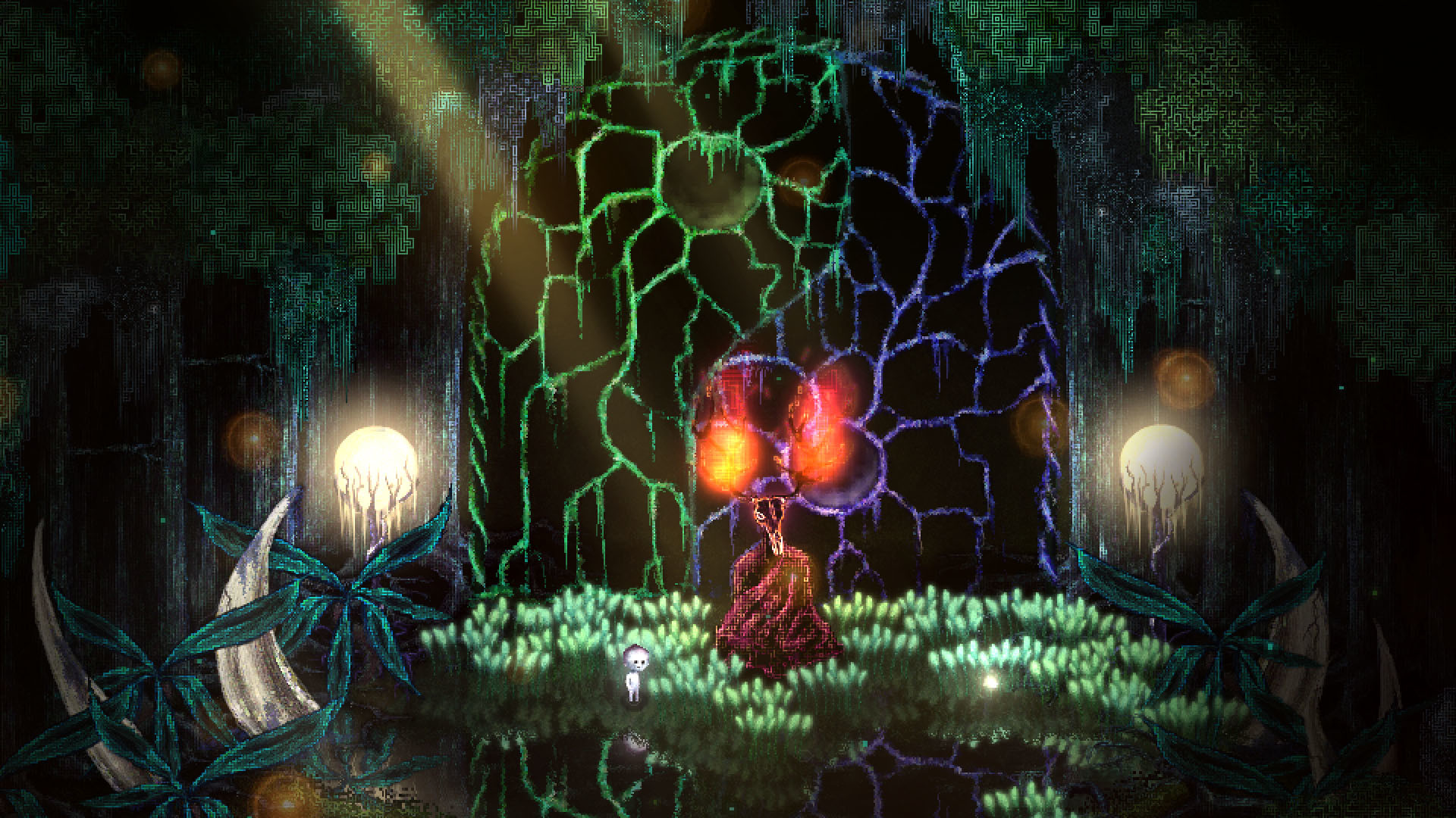 Dap is an eerie Pikmin and Princess Mononoke mashup, out on Steam this month