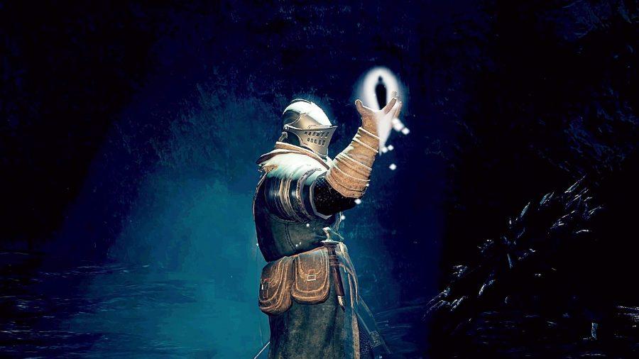 Consuming humanity in Dark Souls