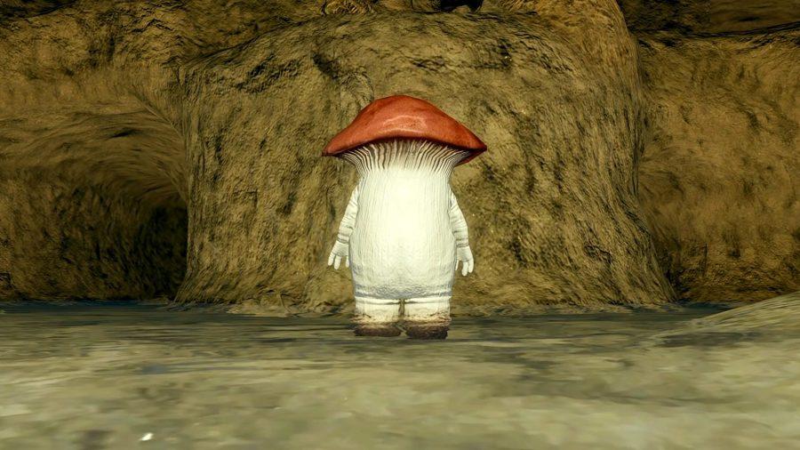 One mean mushroom lad from Dark Souls