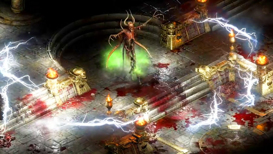 The Assassin solo'ing one of Diablo 2 Resurrected bosses