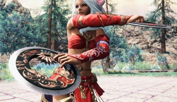 FFXIV's Dancer job entering combat