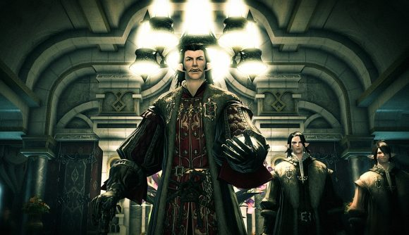 FFXIV's Count Edmont de Fortemps, who is voiced by Stephen Critchlow