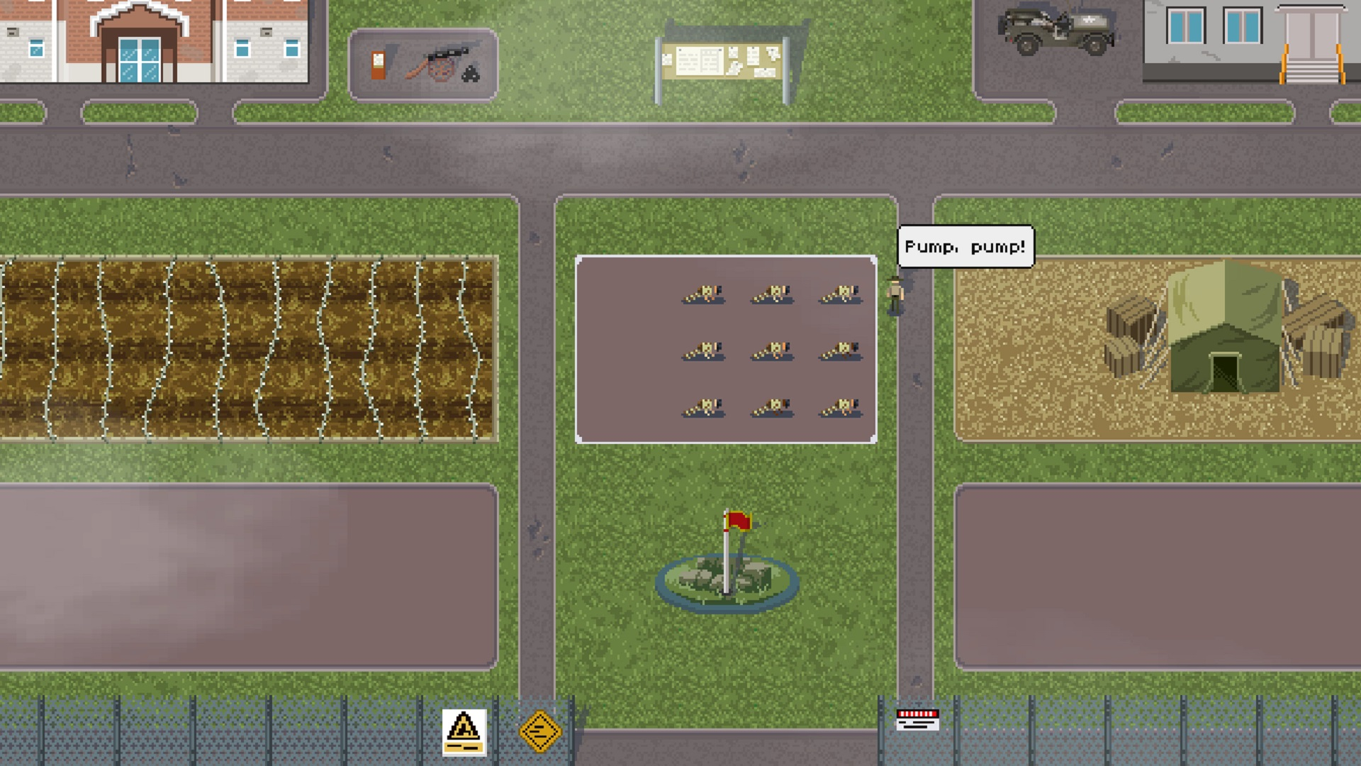 This boot camp management game is inspired by Full Metal Jacket's drill sergeant
