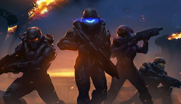 Spartans stand ready to fight in Halo 5