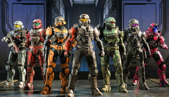 Halo Infinite players line up to play multiplayer