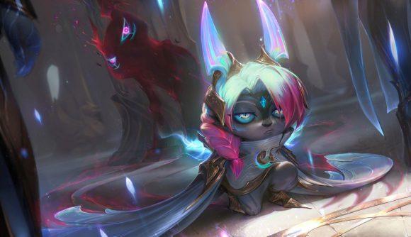 New League of Legends champion Vex in her Dawnbringer skin