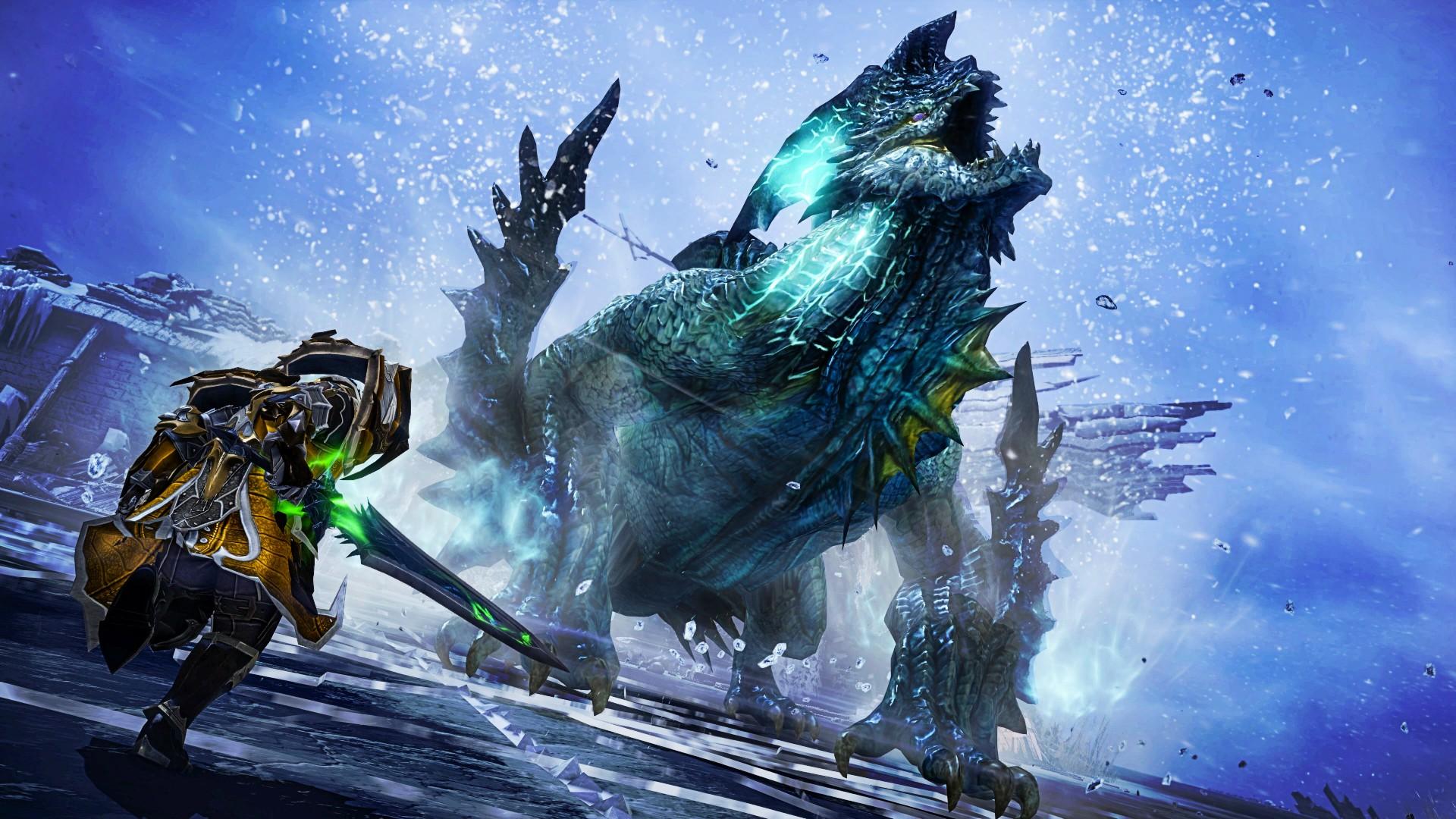 Korean fantasy MMORPG Lost Ark has been delayed into 2022