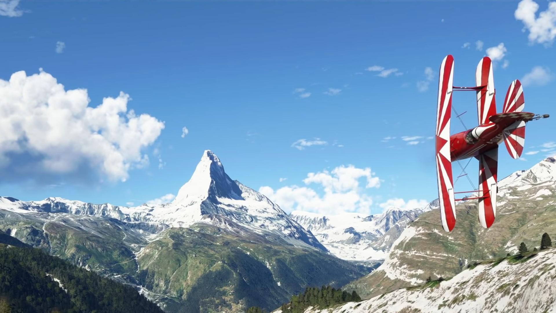 Flight Simulator's big Germany, Austria, and Switzerland update has arrived