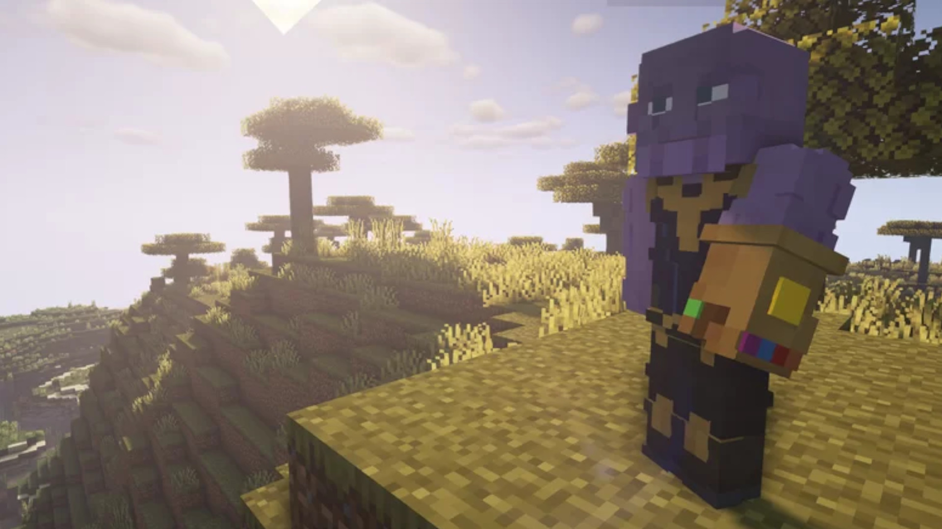 You can now use the Infinity Gauntlet in Minecraft
