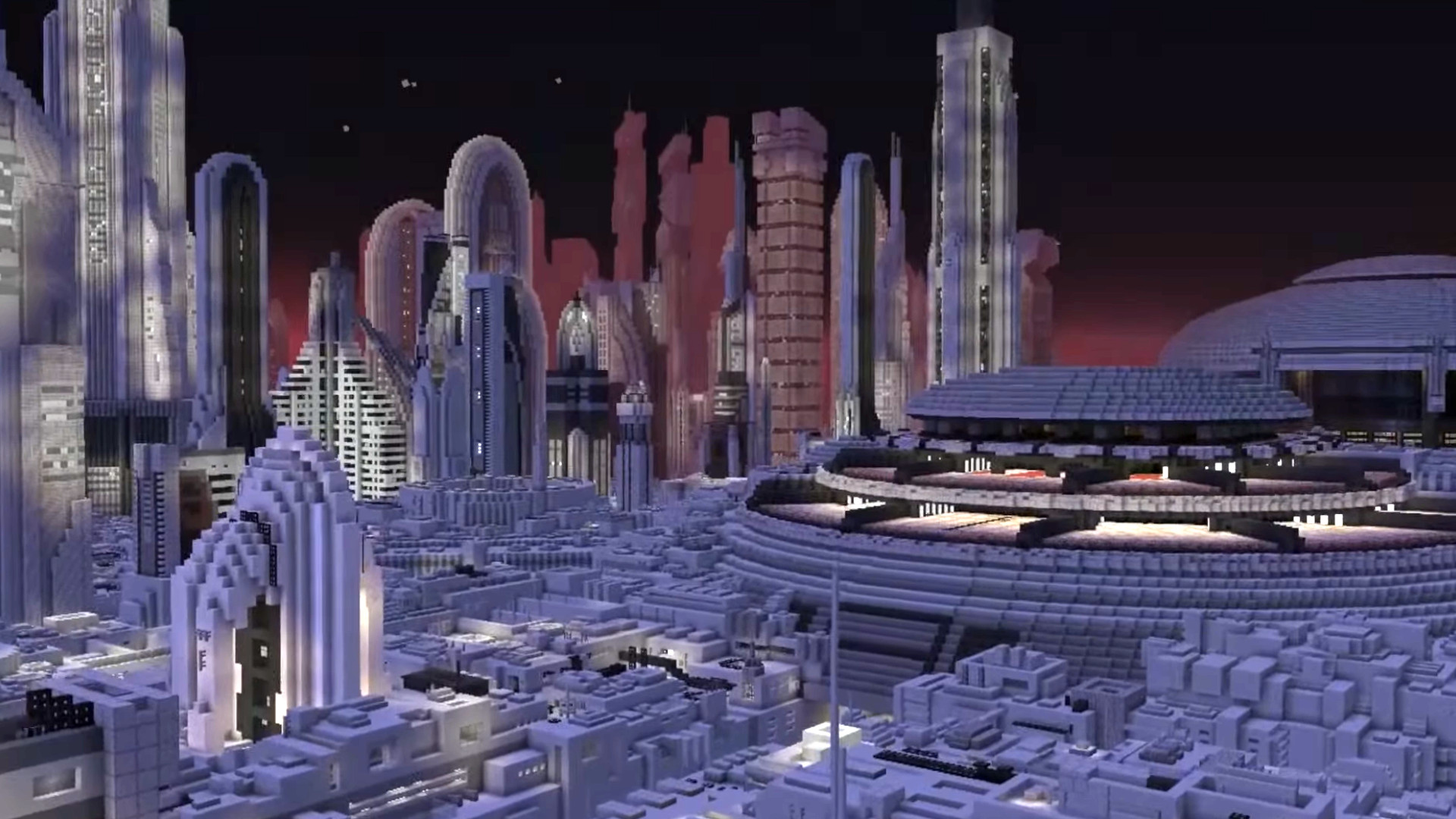 Tatooine and Coruscant took a year to build in Minecraft, and the whole Star Wars galaxy is next