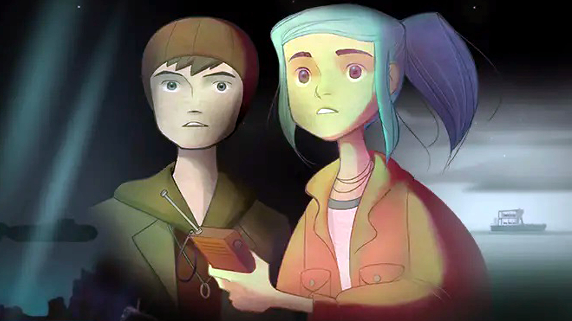 Oxenfree 2's villains have started appearing in the original Oxenfree