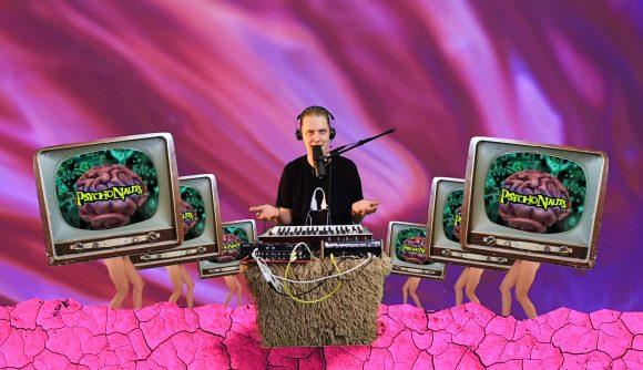 Eurovision Dadi Freyr singing about Psychonauts 2