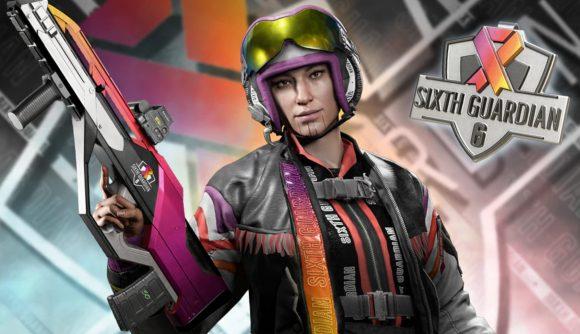 Thunderbird in her new Sixth Guardian skin set in Rainbow Six Siege