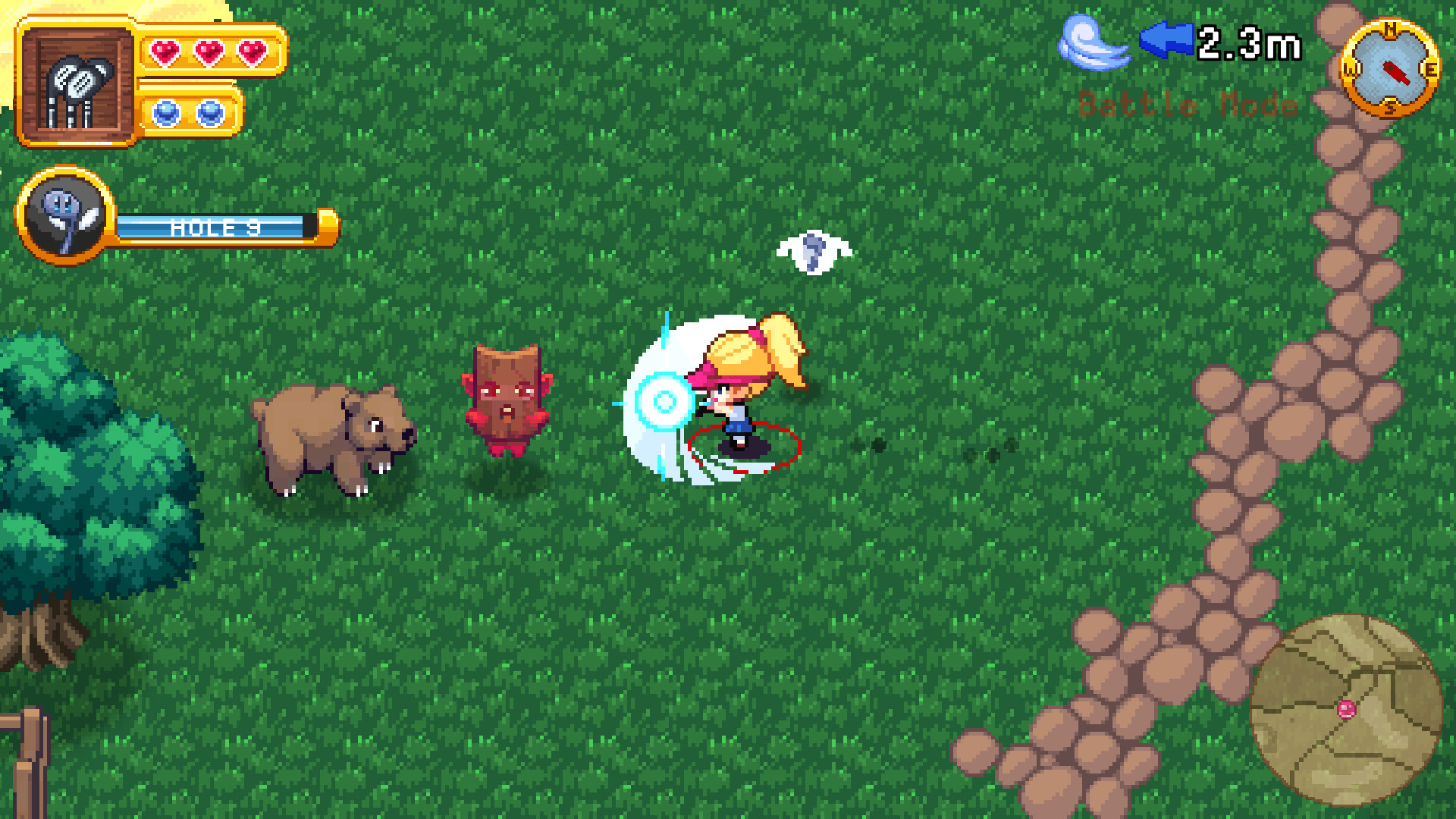 RPGolf Legends looks like the Mario Golf game you actually want