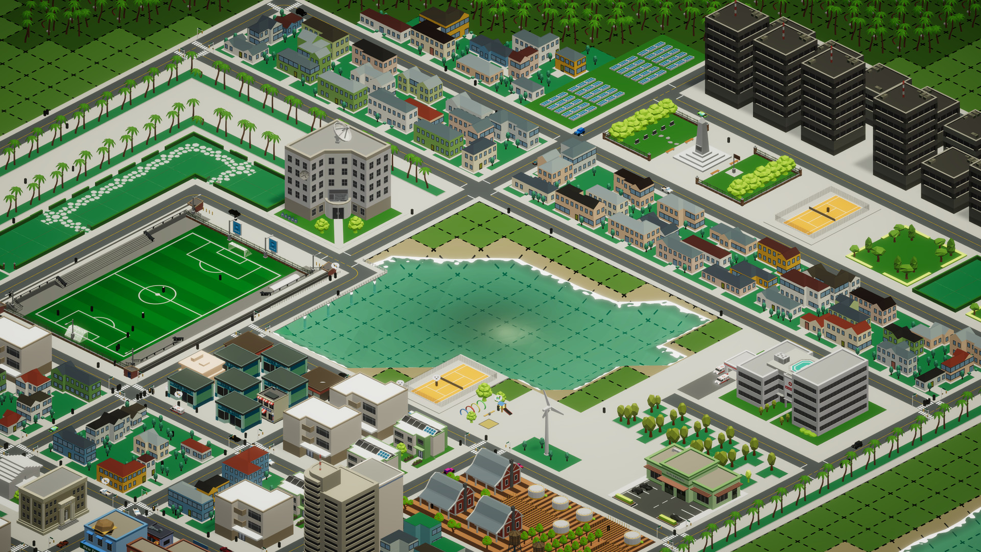 Silicon City is a throwback city builder with a demo available now