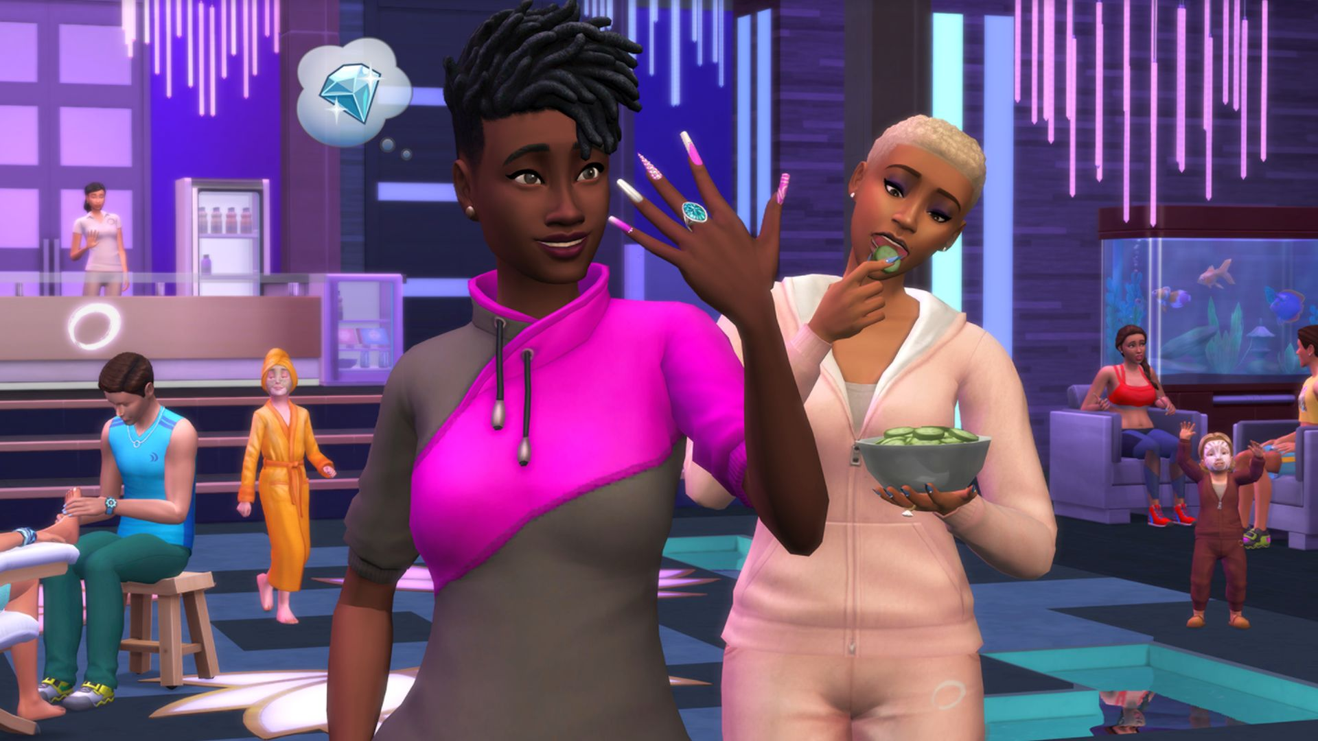 The Sims 4 gets a big, free Spa Day update this week