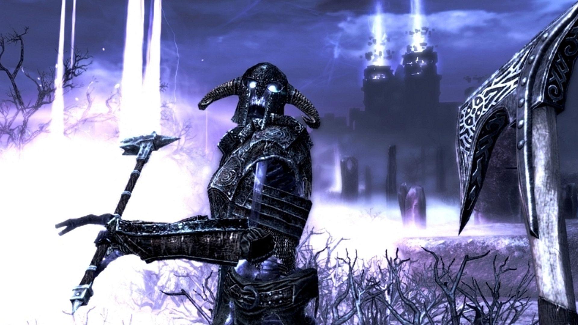 Skyrim fan creates a gorgeously spooky 'Champion of Namira' armour concept