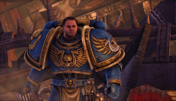 Ultramarine Captain Titus in Warhammer 40K: Space Marine