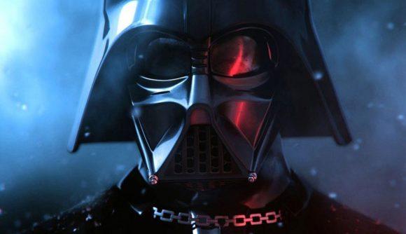 Darth Vader looms over the Quantic Dream studio