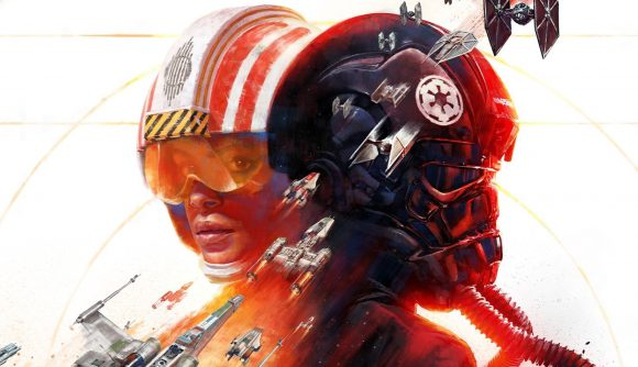 Star Wars Squadrons cover art - a game coming to Amazon Prime Gaming in October