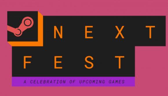 The logo for Steam Next Fest
