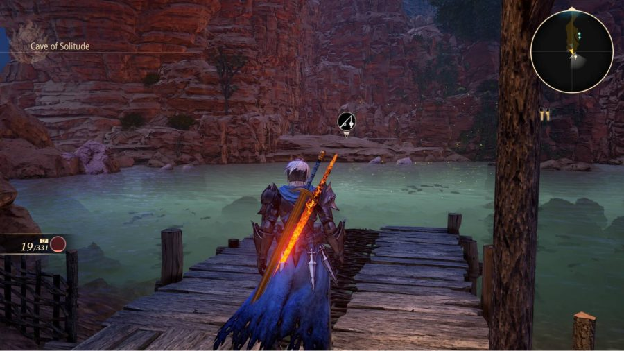 Underground fishing spots in Tales of Arise