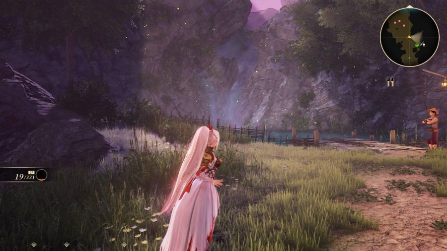 Running to a lake in Tales of Arise
