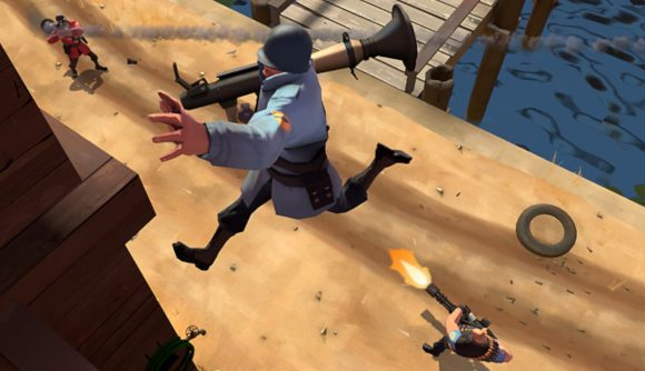 Team Fortress 2 characters do battle